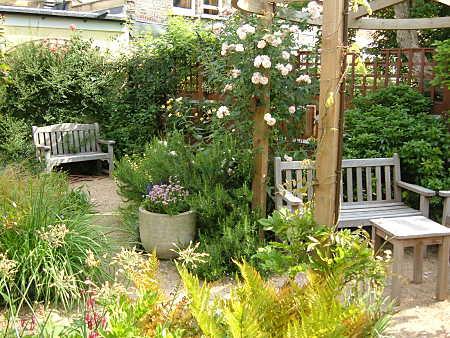 peaceful garden design
